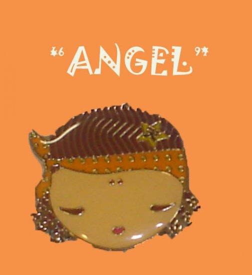 "Gwen Stefani HARAJUKU LOVERS Charm Necklace ""ANGEL"" 16"""
