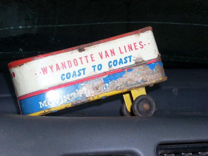 wyandotte van lines vintage van