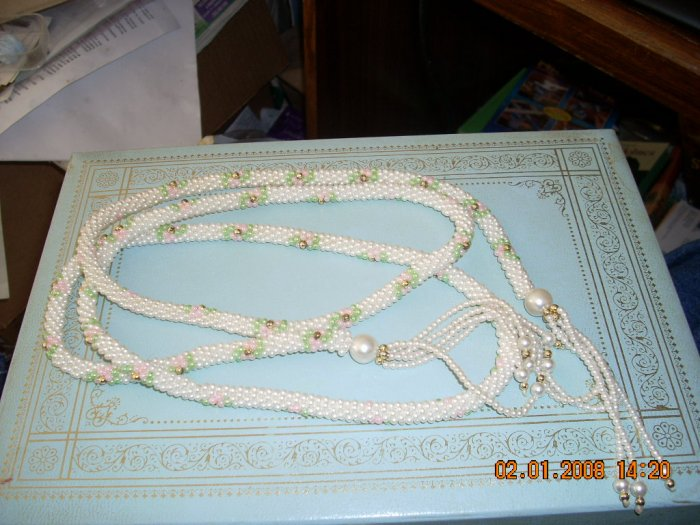 lot of vintage necklaces