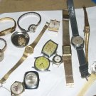 large lot mixed watches / parts vintage and modern