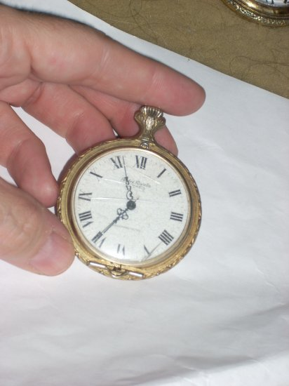 andre rivalle 7 jewel pocket watch