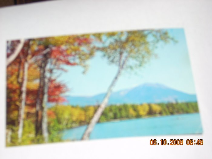 mike roberts mt katahdin frmo kidney pond camps maine