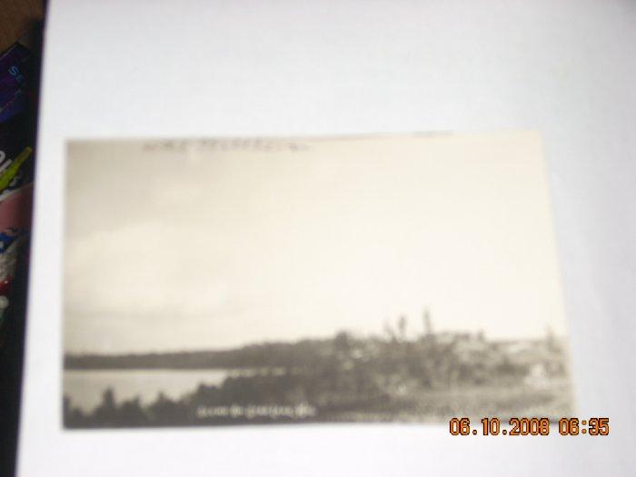 vintage photo post card star lake wisconsin hotel waldheim