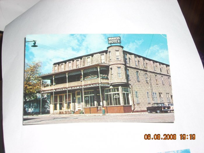 silver lake color card worden's hotel west virginia