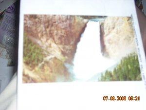 mirro-krome hs crocker lower falls yellowstone national park