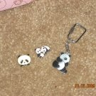 panda pins / keychain