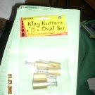 kemper oval pattern cutter set