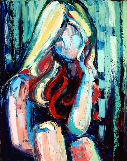Sweet Jane - 22x28 Original Oil on Canvas