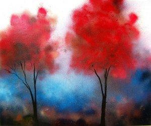 Haze - 20x24 Original Mixed Media on Canvas
