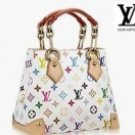 LV multi-coloured sigature handbag
