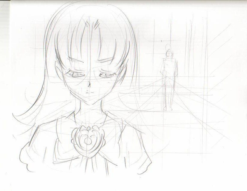 Ashita no Nadja production art: Fake Nadja