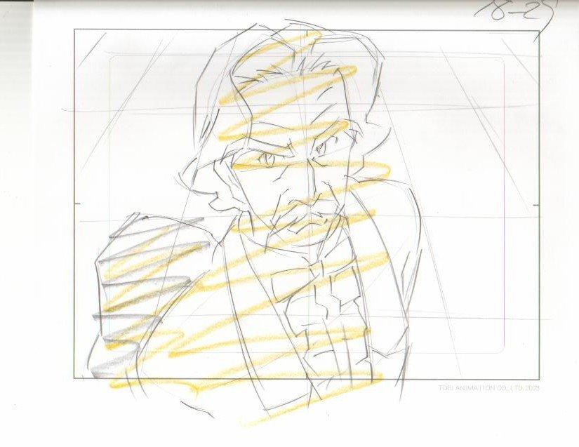 Ashita no Nadja Duke Preminger & Other sketches