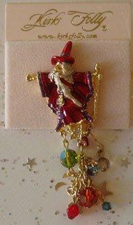 Kirks Folly red wizard pin