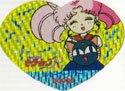 Heart Ribbon SMR #69 prism