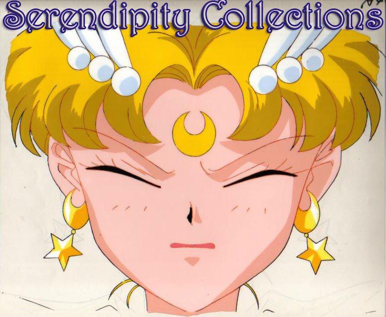 Eternal Sailor Moon animation cel