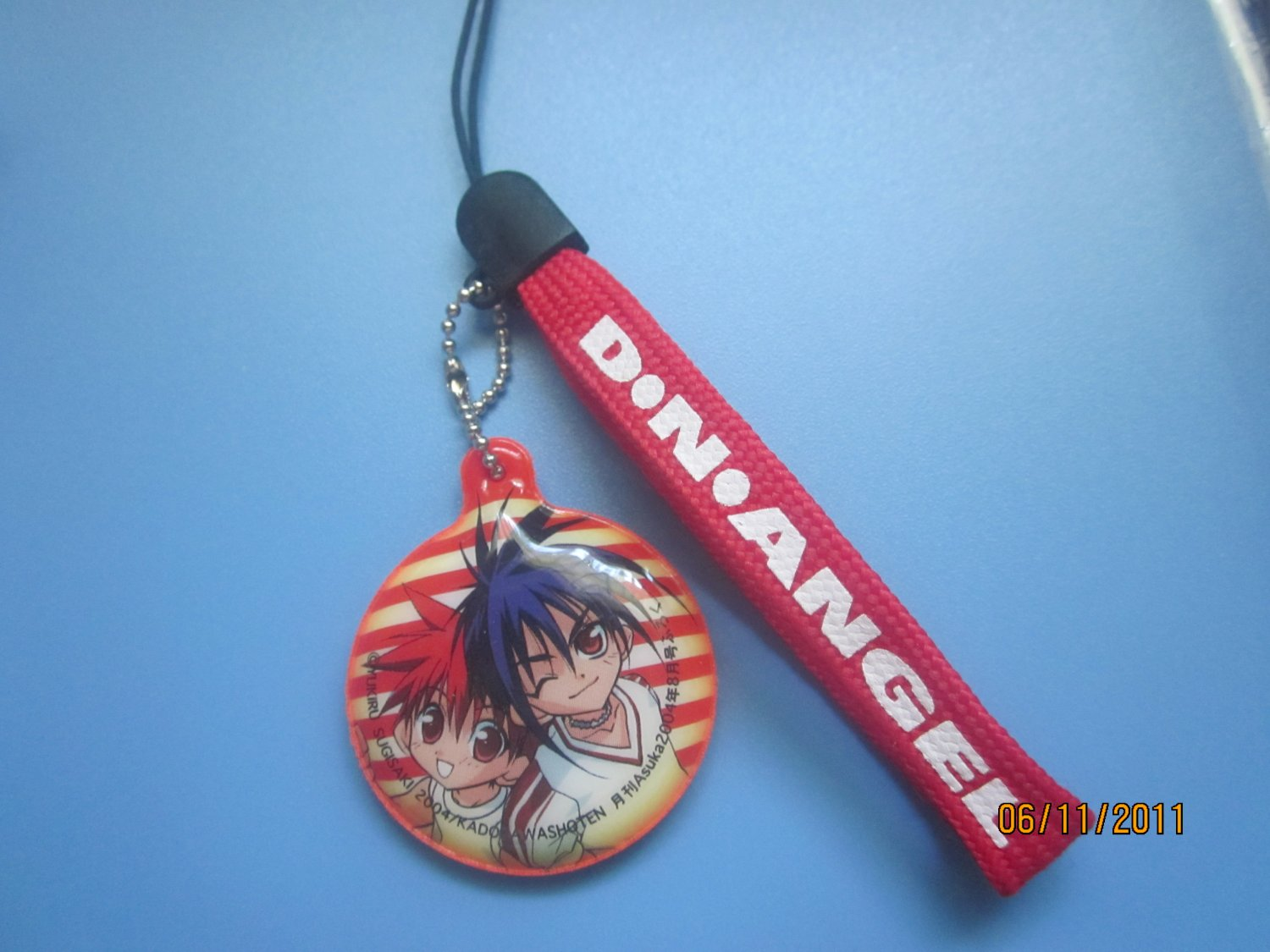 DN Angel cel phone strap