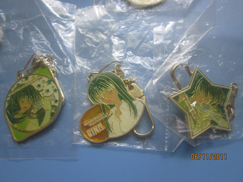 Mermaid Melody keychains Rina (CHOOSE 1)