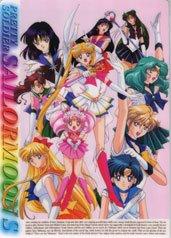 Sailor Moon S shitajiki w/ Pluto & Saturn!