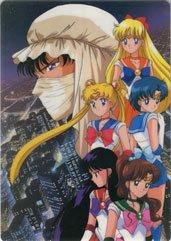 Sailor Moon w/ Moonlight knight Shitajiki