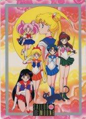 Sailor Moon R - against the sunset shitajiki