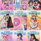 Sailor Moon Battle Private set 1 (INCOMPLETE REGS SET)