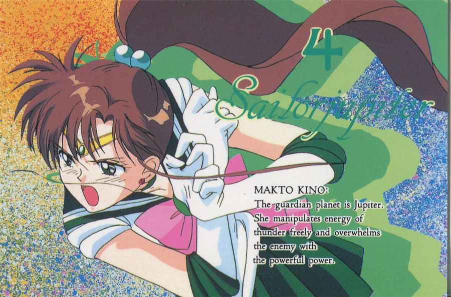 Charamide set 2 (Sailor Jupiter)