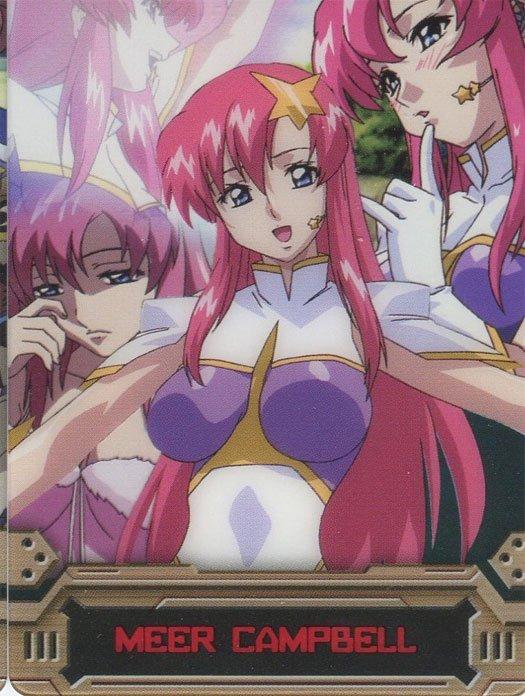 Gundam Seed Destiny cel card (Meer Campbell)