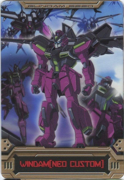 Gundam Seed Destiny cel card  (Windam - NED Custom)