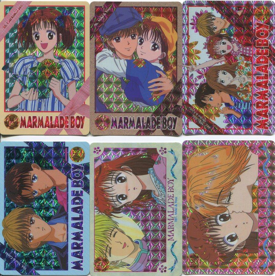 Marmalade Boy Carddas set 3 - prism set (Complete!)