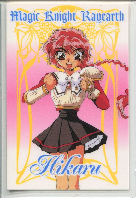 Magic Knight Rayearth Idol Card