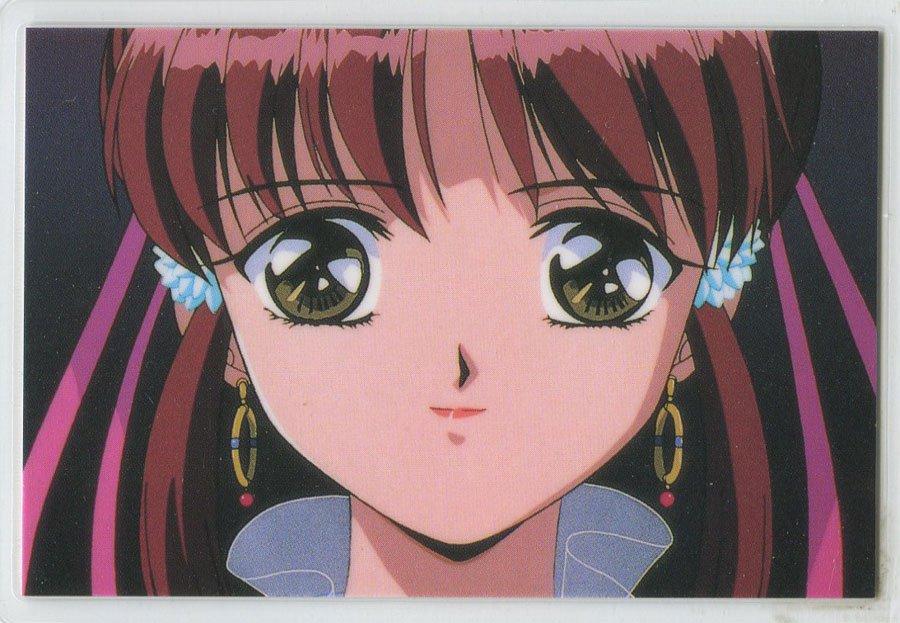 Fushigi Yuugi Idol card (Miaka)