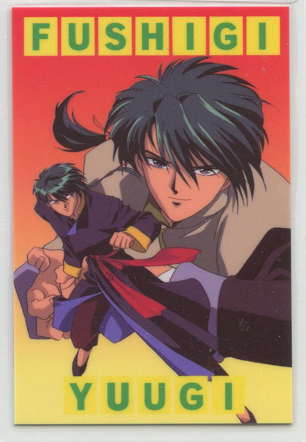 Fushigi Yuugi Idol card (Tamahome)