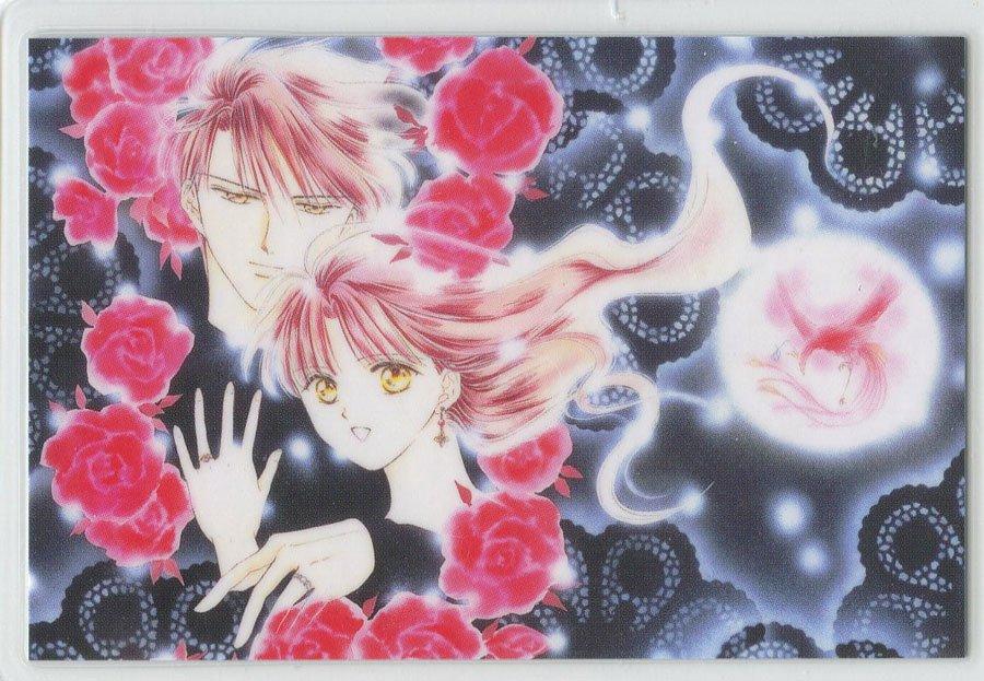 Fushigi Yuugi Idol card Manga design (Tama/ Miaka