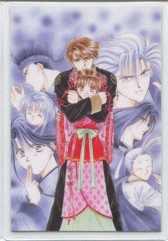 Fushigi Yuugi Idol (manga art) Tamahome & Maika