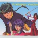 Fushigi Yuugi Idol card (Tamahome, Noriko, & Hatohori)