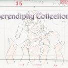 Kamikaze Kaitou Jeanne layout sketch set