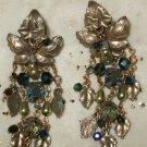 Kirks Folly green goddess earrings