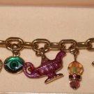 Kirks Folly Aladdin charm bracelet