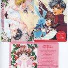 HanaKimi (RARE) Clear Postcard set