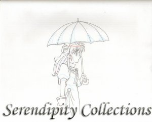 Kamikaze Kaitou Jeanne genga set (Walking in Rain) 10 pieces