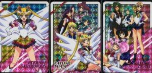 Sailor moon Graffitti 10 prism set (Complete)