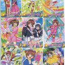 Card Captor Sakura Vending Set 1 (missing 1 card) regs