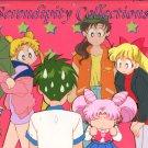 Sailor Moon group animation cel