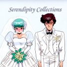 Misc series (Wedding cel) Production cel