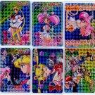Carddas Set 10 (prism set) complete