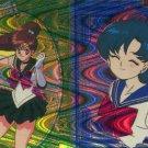 Sailor Moon 2 way prism sticker (Ami and Jupiter)