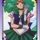 Sailor Neptune cel card, sailor Moon