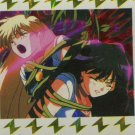 (Venus and Mars attacked) Lightning sticker card, sailor moon