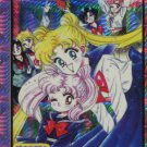 Sailor Moon manga (Usagi, Chibi, inners) prism sticker
