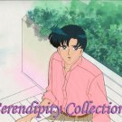 Sailor Moon, (Mamoru) animation cel w/ background (beautiful!)